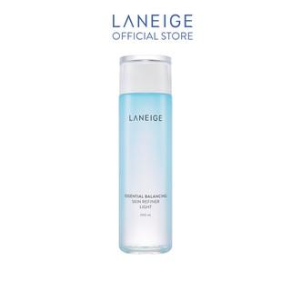 Nước Cân Bằng Dành Cho Da Dầu Laneige Essential Balancing Skin Refiner Light 200Ml