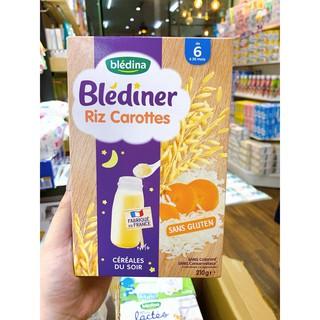 (Mẫu mới) Bột pha (lắc) sữa Blediner gạo cà rốt ban đêm cho bé từ 6 tháng tuổi thumbnail