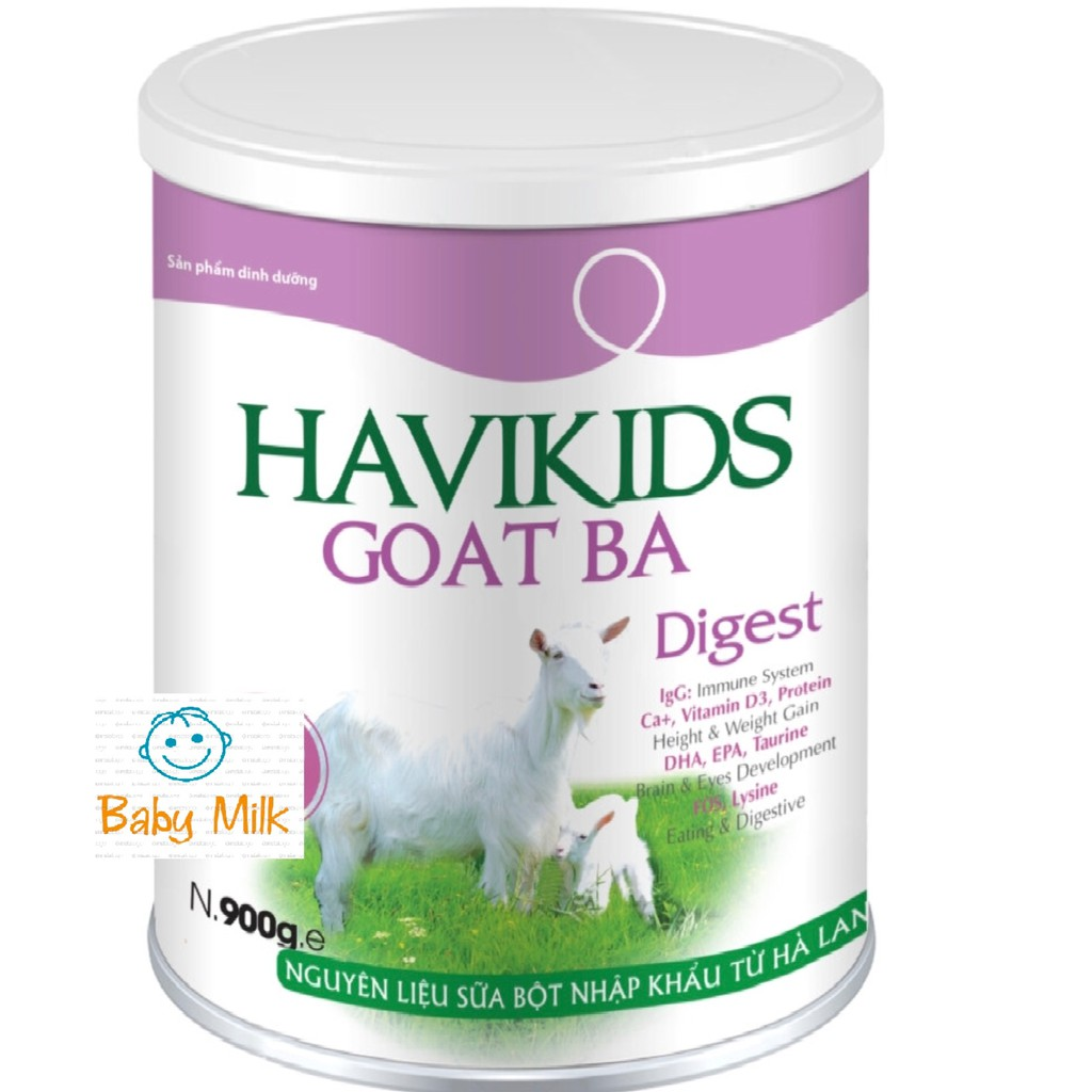 Sữa dê Havikids goat BA (900g) (date 2020) - 2989090 , 1324548291 , 322_1324548291 , 475000 , Sua-de-Havikids-goat-BA-900g-date-2020-322_1324548291 , shopee.vn , Sữa dê Havikids goat BA (900g) (date 2020)