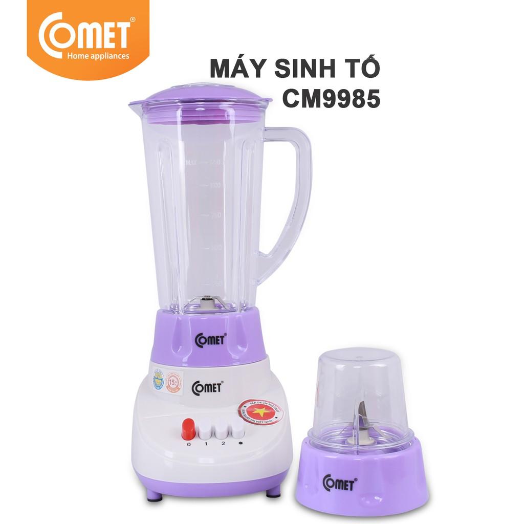 Máy xay sinh tố COMET CM9985 1.25L (2 cối xay)