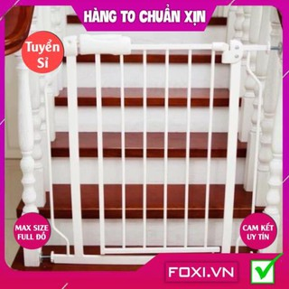 Thanh chặn cửa-chặn cầu thang-Thanh chắn giường-quây giường-Cửa tự động đóng-Nhiều kích thước-Đảm bảo an toàn cho bé thumbnail