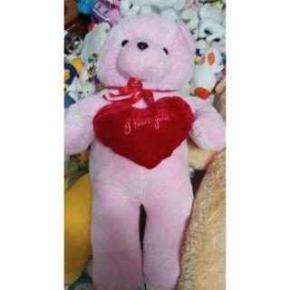 Gấu ôm hồng 50cm