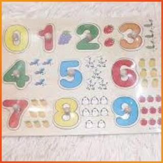 [GIÁ RẺ VÔ ĐỊCH] – Bảng 10 số tập đếm cho bé 020 có núm