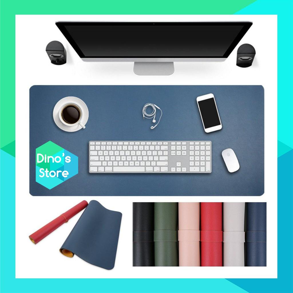 Deskpad - Lót chuột mouse pad tấm lót bàn chất liệu bằng da mousepad - Nhiều màu - Nhiều kích thước