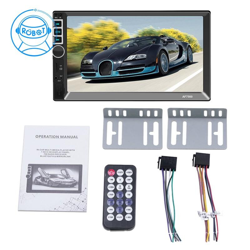 Máy chơi nhạc Mp5 2Din Radio 7 Inch thiết kế tiện lợi cho xe hơi - 22362558 , 2672525355 , 322_2672525355 , 1131727 , May-choi-nhac-Mp5-2Din-Radio-7-Inch-thiet-ke-tien-loi-cho-xe-hoi-322_2672525355 , shopee.vn , Máy chơi nhạc Mp5 2Din Radio 7 Inch thiết kế tiện lợi cho xe hơi