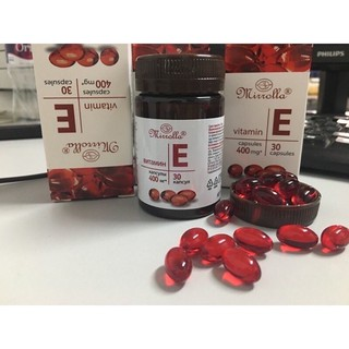 Vitamin E đỏ 400 mg Chính hãng Nga