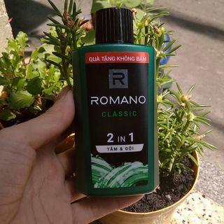 Dầu gội Romano 2 in 1 dành cho nam 60ml