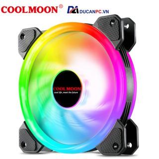 Quạt Tản Nhiệt, Fan Led RGB Coolmoon V4 - Đồng Bộ Hub Coolmoon thumbnail