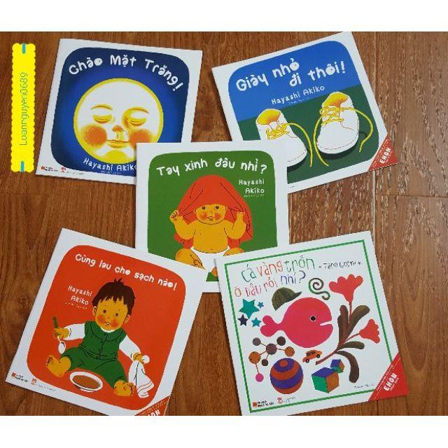 Sách Truyện tranh Ehon Nhật Bản 5 cuốn 0-3t