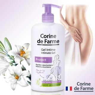 Gel vệ sinh phụ nữ Corine De Farme Intimate gel Protect 250ml Làm Sạch Và Giảm Cảm Giác Khó Chịu Vùng Kín 3