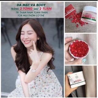 Viên Uống Trắng Da MaxWhite Hàn Quốc thumbnail
