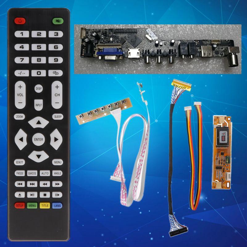 V56 LCD TV Controller Driver Board USB Interface - V56 LCD