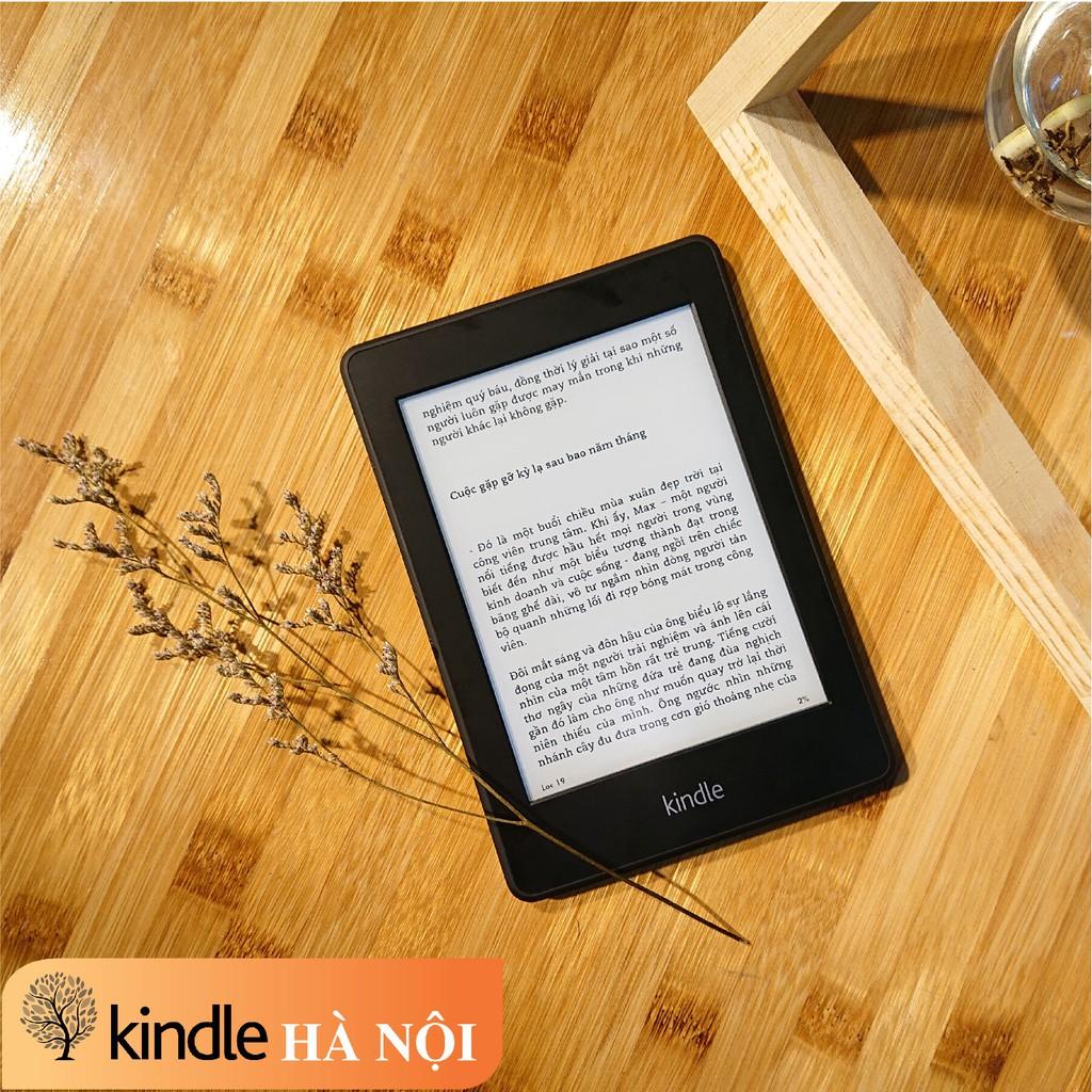 Máy đọc sách Kindle Paperwhite Gen 1 (5th) có đèn nền, màn hình 6'' độ phân giải 212PPI, 2GB lữu trữ trên 2000 Ebook l