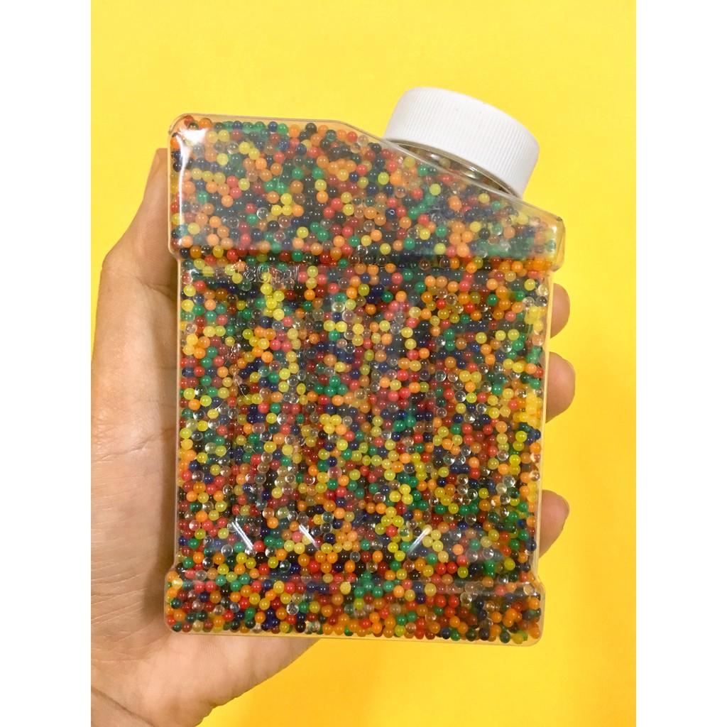 50.000 VIÊN HẠT NỞ NHIỀU MÀU DẠNG CHAI nguyên liệu làm slime nguyên liệu làm slime mã HU261