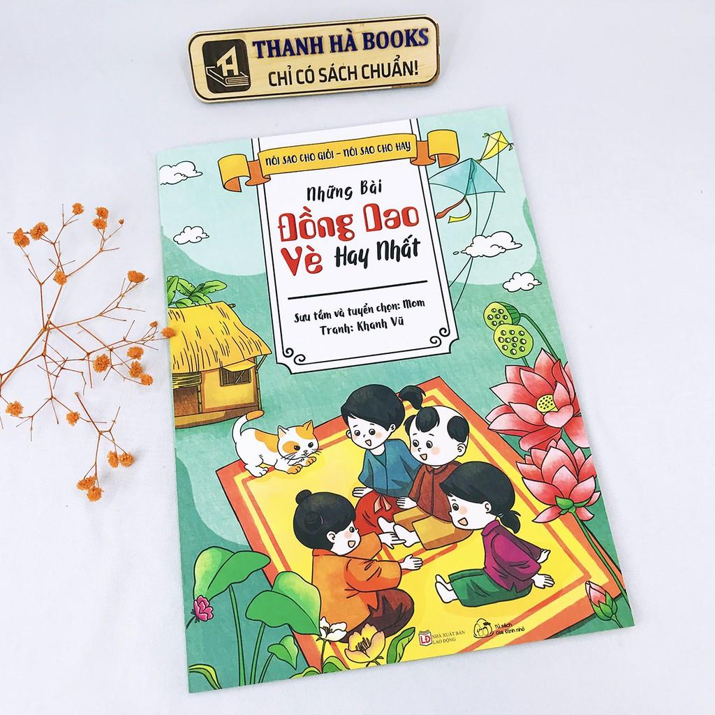 Sách - Lẻ tùy chọn 2 cuốn: Truyện Tranh Phát Triển Tư Duy Cho Bé (bìa cứng) + Những Bài Đồng Dao, Vè Hay Nhất (bìa mềm)