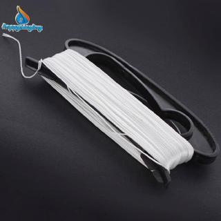 D Shape 100M White Color Line Board Flying Kite Line Flying Tools