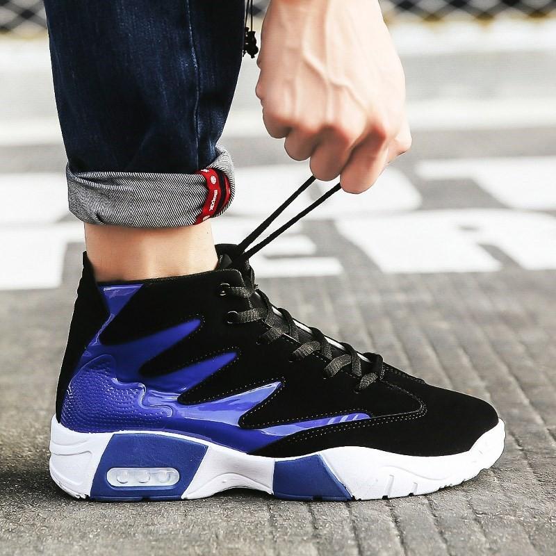 Giày Nam, Giày Sneaker Thể Thao Nam Cổ Cao Phong Cách Hàn Quốc G40