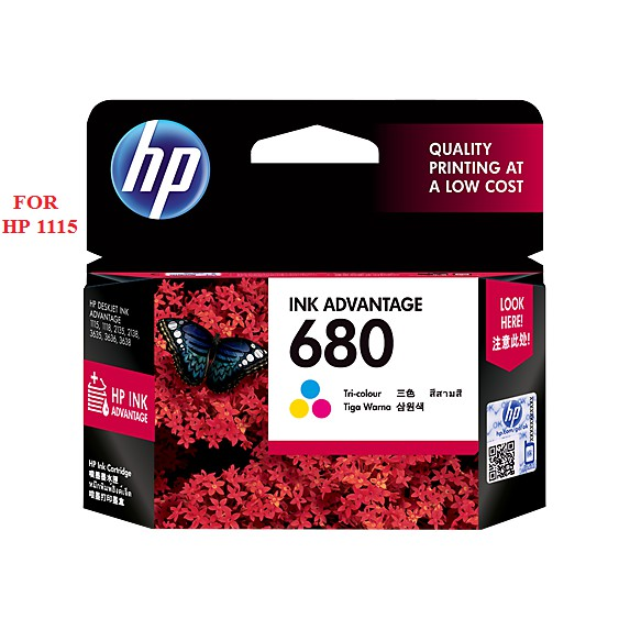 MỰC HP 680 TRI-COLOR FOR HP 1115/2135/3635/3835/4535/4675-150 TRANG