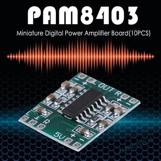 Ow  5/10pcs PAM8403 Mini Digital Amplifier Boards 2x3W Power Amplifier Modules♥