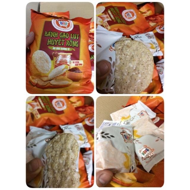 |Bánh Gạo Túi|Gạo Lứt Huyết Rồng Vị Cốm Mật Ong 80g - 3027975 , 669055739 , 322_669055739 , 12000 , Banh-Gao-TuiGao-Lut-Huyet-Rong-Vi-Com-Mat-Ong-80g-322_669055739 , shopee.vn , |Bánh Gạo Túi|Gạo Lứt Huyết Rồng Vị Cốm Mật Ong 80g