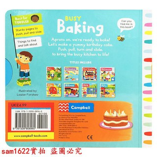 Busy Baking BusyBook Series Game Book Enlightenment 12345 C