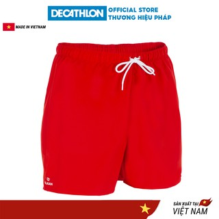 Quần thể thao nam Decathlon OLAIAN hendaia đi biển - đỏ thumbnail