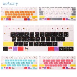 Miếng Dán Bàn Phím Silicon Nhiều Màu Cho 13 15 17 Macbook Laptop Notebook thumbnail