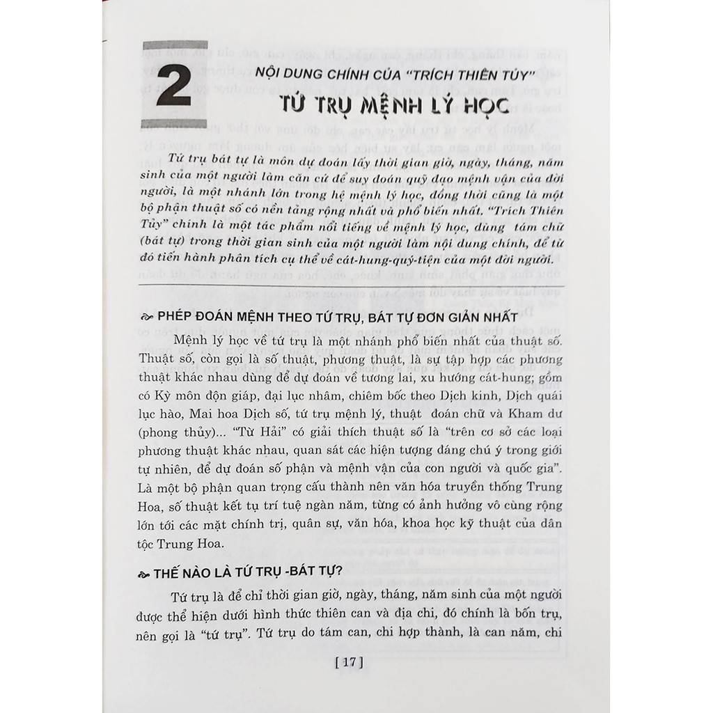 Sách - Thiên Nhân Học Cổ Đại - Trích Thiên Tủy (Tác Phẩm Đình Cao Về Bát Tự Mệnh Lý Học ) - Tập 1