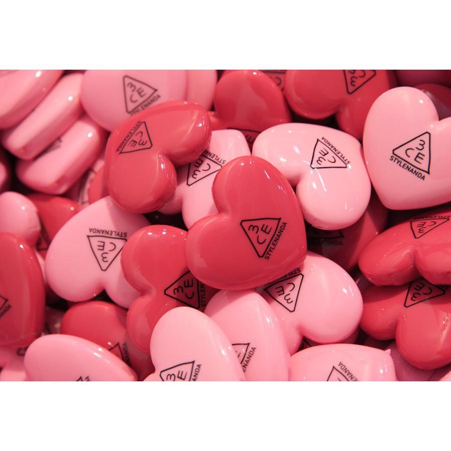 Son dưỡng có màu hình trái tim 3CE Heart Pot Lip - 2673888 , 738453322 , 322_738453322 , 150000 , Son-duong-co-mau-hinh-trai-tim-3CE-Heart-Pot-Lip-322_738453322 , shopee.vn , Son dưỡng có màu hình trái tim 3CE Heart Pot Lip
