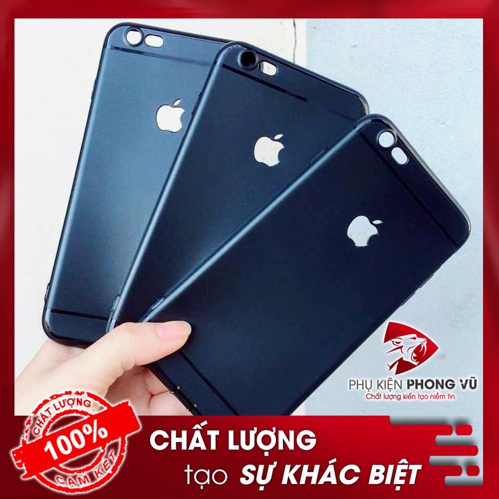 Ốp trơn đen mềm cho các dòng iphone 6/6s/6Plus/6sPlus/7/8/7Plus/8Plus