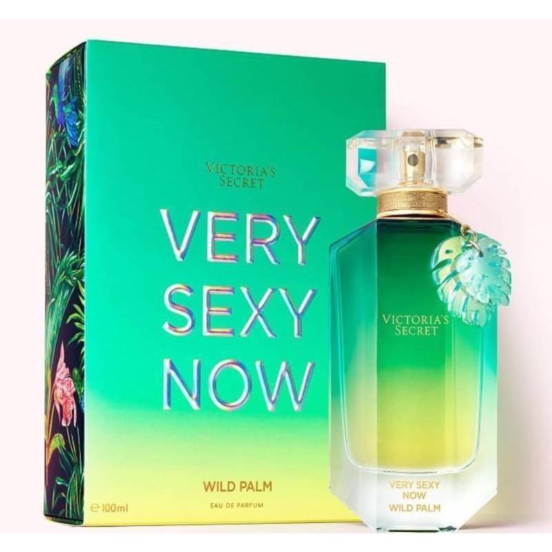 ส่งฟรี Victoria's secret Very Sexy Now Wild Palm EDP 100ml กล่องซีล