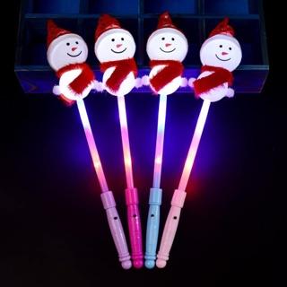 Gậy phát sáng kèm pin gấu Brown Người tuyết đồ chơi phục vụ trẻ em dịp lễ tết