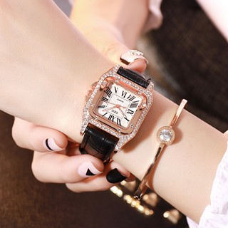 Đồng hồ thời trang nữ DZG đính đá ST78h9