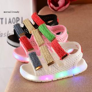 Giày Sandal Có Đèn Led Kiểu Dáng Hàn Quốc Cho Bé thumbnail