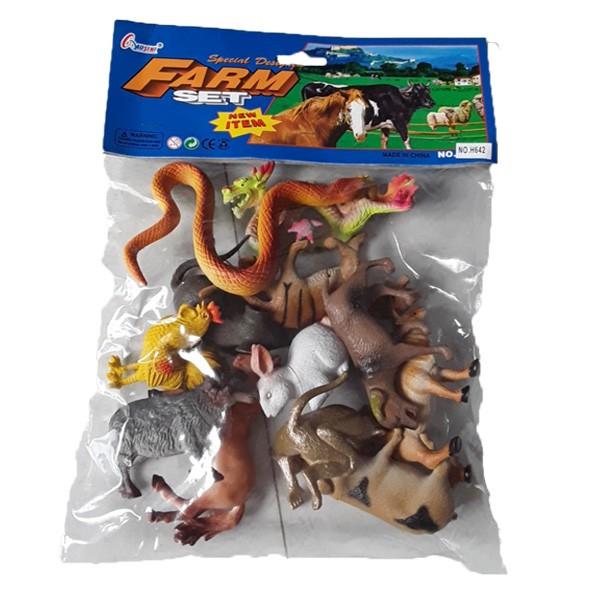 Đồ chơi sưu tầm mô hình các con vật 12 con giáp bằng nhựa cứng, đứng được giúp bé chơi vui hơn