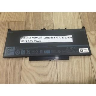 Pin DELL NEW ZIN Latitude E7270 & E7470 – J60J5 7.6V 55WH Chính Hãng