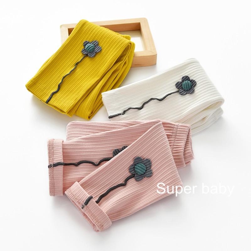 quần legging in hoa 3d cho bé gái