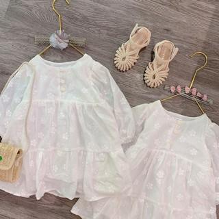 Váy thô boil thêu nổi cho các nàng công chúa