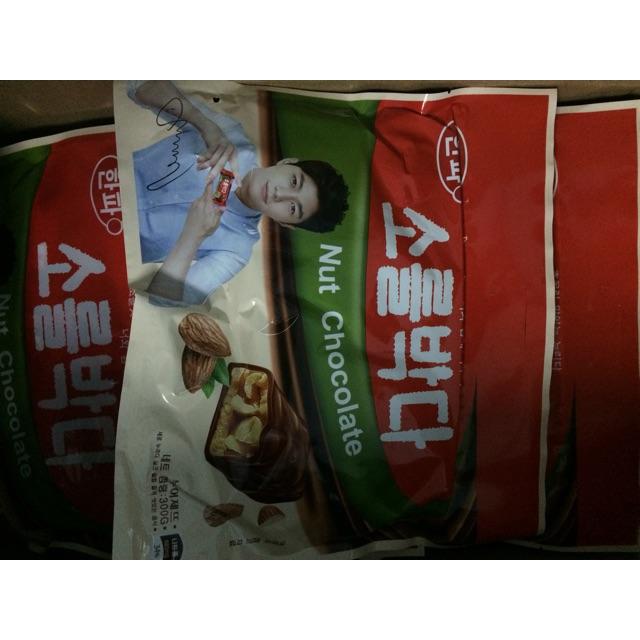 Combo 30 gói kẹo Nut Chocolate Hàn Quốc - 3381387 , 808991507 , 322_808991507 , 850000 , Combo-30-goi-keo-Nut-Chocolate-Han-Quoc-322_808991507 , shopee.vn , Combo 30 gói kẹo Nut Chocolate Hàn Quốc