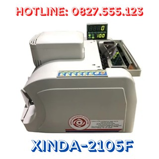Máy đếm tiền XINDA 2105F thumbnail