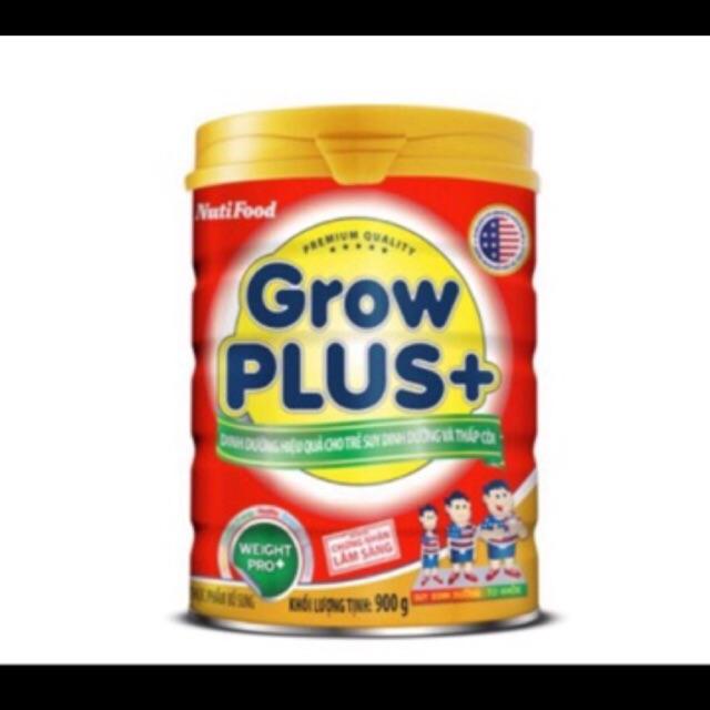 Sữa grow plus trên 1 tuổi lon 900g