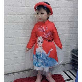 Váy cách tân Elsa cho bé gái 8kg-20kg thumbnail