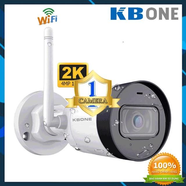 Camera  Wifi 4.0MP KBONE 4001WN   - Lắp ngoài trời