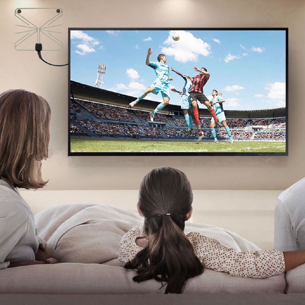 Beast USB Indoor Digital TV Antenna 50-100 Miles Range Signal 1080P Amplified HDTV Hot Giá chỉ 119.400₫