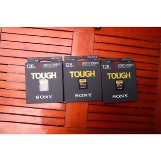 Thẻ nhớ Sony tough G Series 128Gb 300mb/299mb new 100%