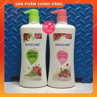 Sữa tắm Hazeline 670g SIÊU SALE Sữa tắm Hazeline dưỡng ẩm sáng da rạng ngời thuần khiết thumbnail