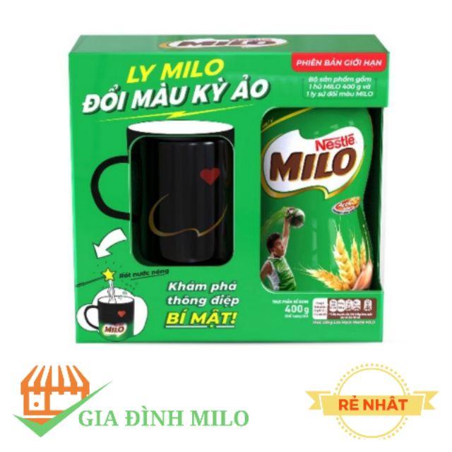 [SIÊU HOT] Milo 400g + TẶNG LY SỨ ĐỔI MÀU