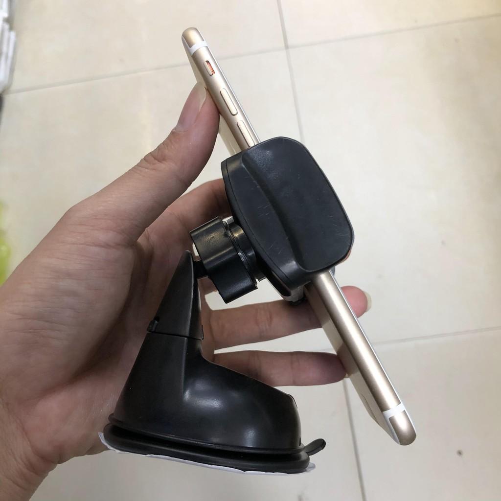 [SIÊU GỌN] car hold.Giá, kẹp điện thoại trên ô tô. Hàng chính hãng cao cấp gắn trên kính, da...