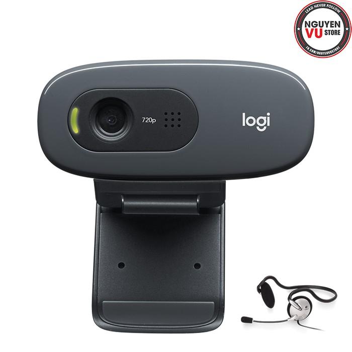 Webcam Logitech C270H Giá chỉ 810.000₫