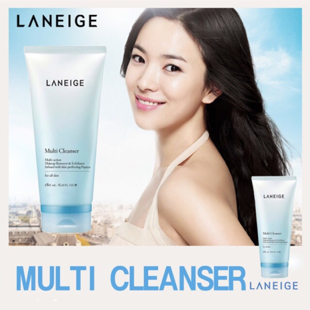 Tuýp lớn 180ml Sữa rửa mặt Laneige Multi Cleanser - 3383988 , 703494301 , 322_703494301 , 500000 , Tuyp-lon-180ml-Sua-rua-mat-Laneige-Multi-Cleanser-322_703494301 , shopee.vn , Tuýp lớn 180ml Sữa rửa mặt Laneige Multi Cleanser